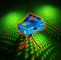 Wholesale Mini Laser Stage Lighting mW mini Green amp Red Laser DJ Party Stage Lighting Light