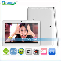 "Under $200 Sanei 10 inch Sanei N10 Quad Core 3G Android Tablet PC With 10"" IPS 1280*800 HD screen GPS Bluetooth 1G 4GB 1.2GHz Qualcomm 3G Sim Card Phone Call Phablet"