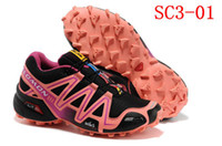 Wholesale salomon SPEEDCROSS women s sport shoes new style ladies running shoes lightweight breathable training shoes mountain shoes sneakers