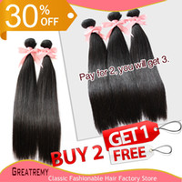 SALES!! Grade 6A! Buy 2pcs Get 1pc Free More 100% Brazilian ...