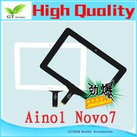 Wholesale 1pc quot Inch Capacitive Touch Screen PANEL Digitizer Glass Replacement for Ainol Novo7 Tablet PC Pad Touch digitizer
