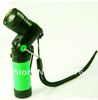 other other Aluminum CREE Q5 1.5V-4.2V LED Flashlight-Green(1xAA 14500)Free shipping