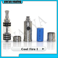 Electronic Cigarette Set Series Cool Fire 1 5set lots 2014 vaping device New Products Innokin Cool Fire 1 Starter Kit with iClear 30B free shipping