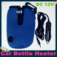 Wholesale DC V Universal Portable Travel Car Heater calefactor for Baby feeder Kid Bottle Car baby feeder Warmer Heater in Car