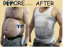 Wholesale BODY SHAPER for MEN SLIMMING SHIRT TUMMY WAIST VEST