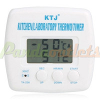 Wholesale TA Multifunctional Food Thermometer amp Timer White