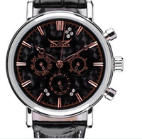 Casual Men's Water Resistant Free Shipping Luxury Brand New Black Men and Women Suit Business Automaic Mechanical Men's Watch Vintage Wrist Watch for Gift
