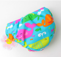 Wholesale sun store Boy Baby Swim Diapers Cute whale pattern Month New Kids Swimwear