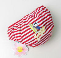 Wholesale sun store Baby Swim Diapers Stripe And Cartoon Style Kids Swimwear Month
