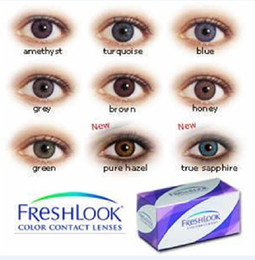 Wholesale HOT SALL MOQ pair piece colors Contact Lens EYE CONTACTS freshlook Contact Lenses make your eyes more Cooool Design Euro Style
