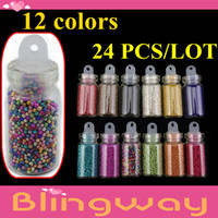 Wholesale free Shipping + 24pcs lot(12 Different Color )Tiny ...