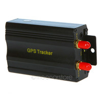 Wholesale Vehicle Car GPS Tracker TK103A with GSM Alarm SD Card Slot Anti theft Real time tracking LQP0017