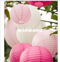 Wholesale cm quot Chinese round paper lantern wedding lantern festival decoration