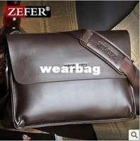 Messenger Bags Messenger Bags Men The new 2014 ZEFER male bag shoulder bag han edition men's briefcase real cowhide bag, leisure bag free postage