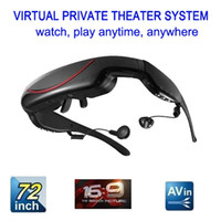 Wholesale 72 inch Virtual Display Video Glasses GB Portable Eyewear AV Wide Screen VG300