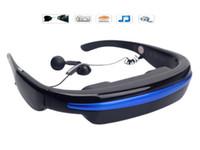 Wholesale Portable VG280 HD inch Eyewear Wide Screen Video Glasses Virtual Theatre GB