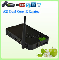 Dual Core Not Included 1080P (Full-HD) X55 Cheap dual core tv box with HDMI+RJ45+Android 4.2+IR remote Digital TV Box Receiver