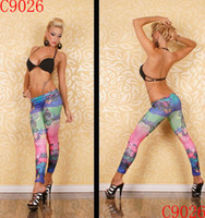 Wholesale New arrival sexy jeans Women s Fashion Leggings high quality Mix Order