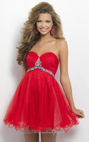 Reference Images Diamond Tulle Sweetheart Cheap Red Short Diamond Tulle Slim Short Mini Homecoming Dresses Ruched Sweetheart Rhinestone Prom Party Bridesmaids Dresses Gowns 2014 YAA