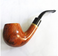 other Bent Type 1 Free shipping Domestic briar smoking pipe resin red sandalwood entry level smoking pipe
