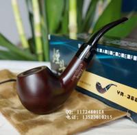 other bent china Black rosewood smoking pipe handmade wood Medium smoke wire smoking pipe briar