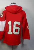 Ice Hockey Men Full 2014 Olympic Team #16 Jonathan Toews Red Jerseys Embroidery Logos Ice Hockey Hooded Sweatshirt Jersey Best Quality