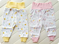 Wholesale children s clothing baby belly waist nursing care belly pants cotton trousers children s dual use file johns Leggings