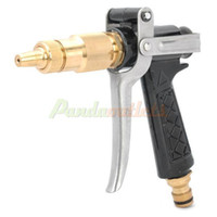 Wholesale Car Wash High Pressure Spray Head Nozzle for Water Spray Gun Black Golden Silver