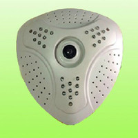 Wholesale Fisheye IP Camera P Full HD MP x1200 Degree Night vision Home security camera with TF card slot Function Newest