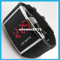 Wholesale 2014 CPAM free Colors stock Multifunction LED display digital watch LED watch luxury Date digital watch For Mens