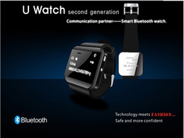 Hot U Watch Smart Bluetooth phones GSM Quad Core Unlcoked Mobile Watch with phonebook Call MP3 Alarm For Andriod Cell Phone free shipping