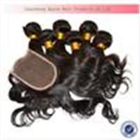 "Brazilian Hair Body Wave Brazilian Virgin Hair 4 pcs lot Brazilian Virgin Body Wave Hair Weave 1 Pc Lace Top Closure With 3 Pcs Hair Bundles Virgin Hair 14-24"" Free Shipping"