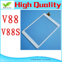 Wholesale 1pc quot white inch touch screen New CHUWI V88 V88S MINI Tablet pc touch pad touch panel digitizer HY white color