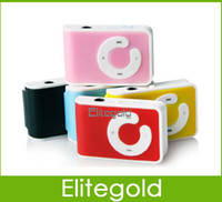 Wholesale 2014 New Clip Music MP3 Player Support TF Micro SD Card GB GB GB Colors In stock