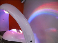 Wholesale 2014 new rainbow in my room projector LED light night lamp christmas light