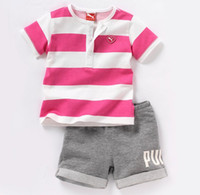 Directly Sale Summer 2014 Baby Children Girls SetsOutfits Gi...