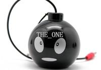 mini speaker rechargeable - Very Cute Face Bomb speaker mini speaker rechargeable Mini Keychain portable loudspeaker mini stereo speaker music mp3 player new arrival