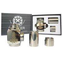 Hammer Epipe Mod E- Cigarette E Pipe Mod Mechanical Stainless...