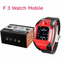 efit - Hot selling F3 Sport Watch Phone Single sim MP3 MP4 Bluetooth headset unlock efit mini cell Mobile
