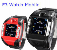 No Brand efit - Perfect Style F3 Sport Watch Phone Single sim MP3 MP4 Bluetooth headset unlock efit mini cell Mobile