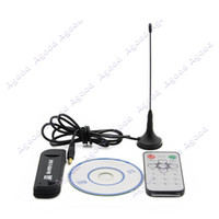 Wholesale FeDex New Software Radio USB DVB T RTL2832U R820T Support SDR Digital TV Tuner Receiver