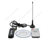 Wholesale New Software Radio USB DVB T RTL2832U R820T Support SDR Digital TV Tuner Receiver