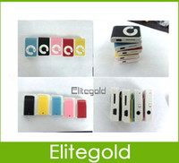 Wholesale Quality C key Clip Mp3 Player Colors With TF Card Port Support MB GB Micro sd tf card Free Ship Via DHL