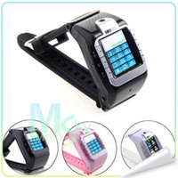 Wholesale N388 Wrist Watch Phone GSM Quad Band Unlcoked Mobile With quot Touch Screen Camera Bluetooth MP3 FM GPS
