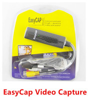 Wholesale Easycap USB video Capture TV DVD VHS DVR Capture Adapter usb Video Capture Video Capture Device