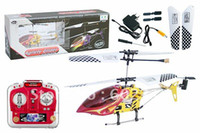 Electric 2 Channel 1:4 QS9008 21CM 3ch Mini Agilely Glider ready to fly RC Helicopter 9008 with LED Lights & Full Metal Body Frame Indoor Co-Axial