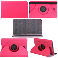 Wholesale 360 Rotating PU Leather Case Cover For Dell Venue inch with simply opp package