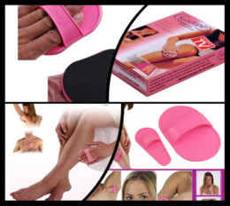 Wholesale 600Pcs Smooooth Legs Hair Removal Pads Smooth Legs Smooth Unwanted Hair hair removal amp exfoliator pad T327