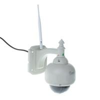 Wholesale Outdoor Waterproof P2P Wireless IP Cloud Camera PTZ HD P H IR Cut Night Vision Motion Detection