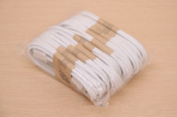 For Samsung   1M 3FT Micro V8 USB Data Cable Sync Charger Cables for Samsung Galaxy S2 S3 S4 NOTE 2 3 mini i9300 HTC blackberry with retail box